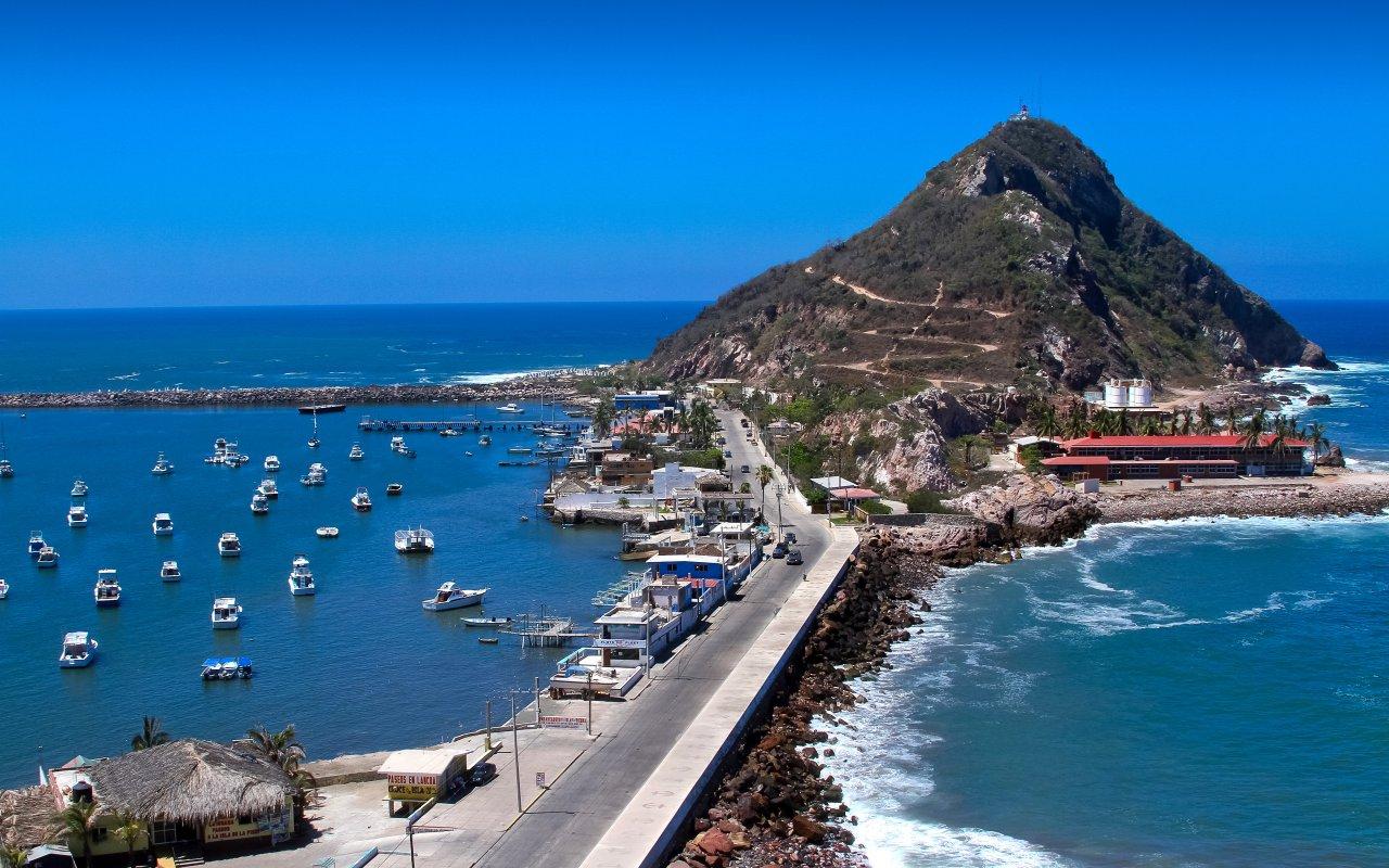 Muelle Mazatlán, cote paficique Mexique