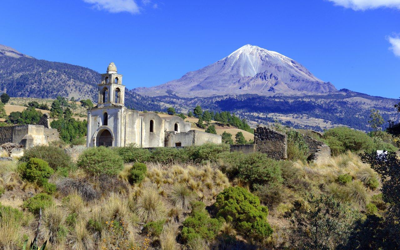 Volcan du Mexique,Ixtaccihuatl