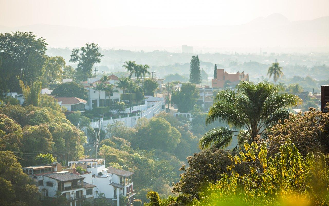 Vue sur la ville de Cuernavaca au Mexique