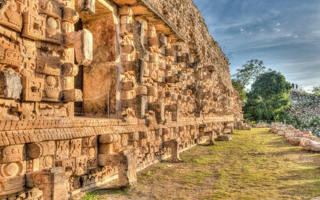 Kabah der Maya