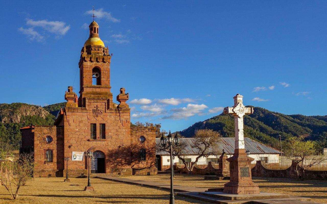 Cerocahui dans la région du cuivre au Mexique