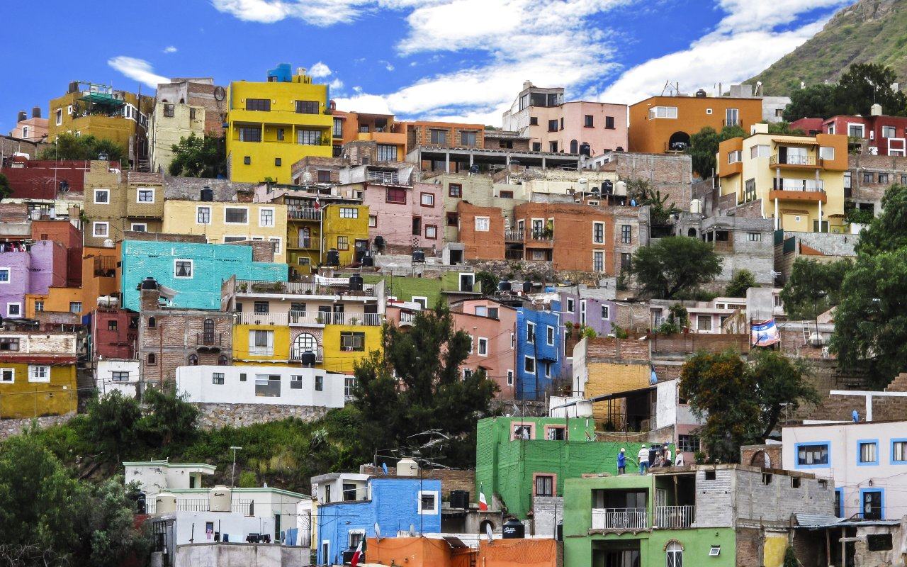 Ville colorée de Guanajuato au Mexique