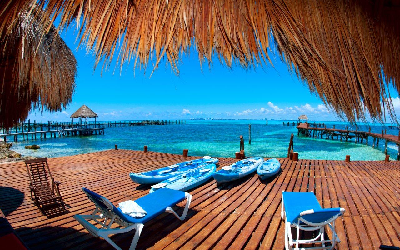 Isla Mujeres au Mexique