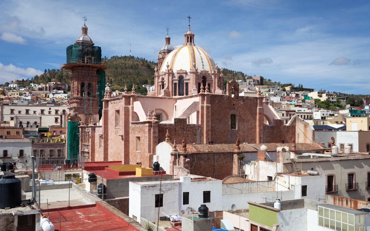 Zacateca dans la région de Mexico