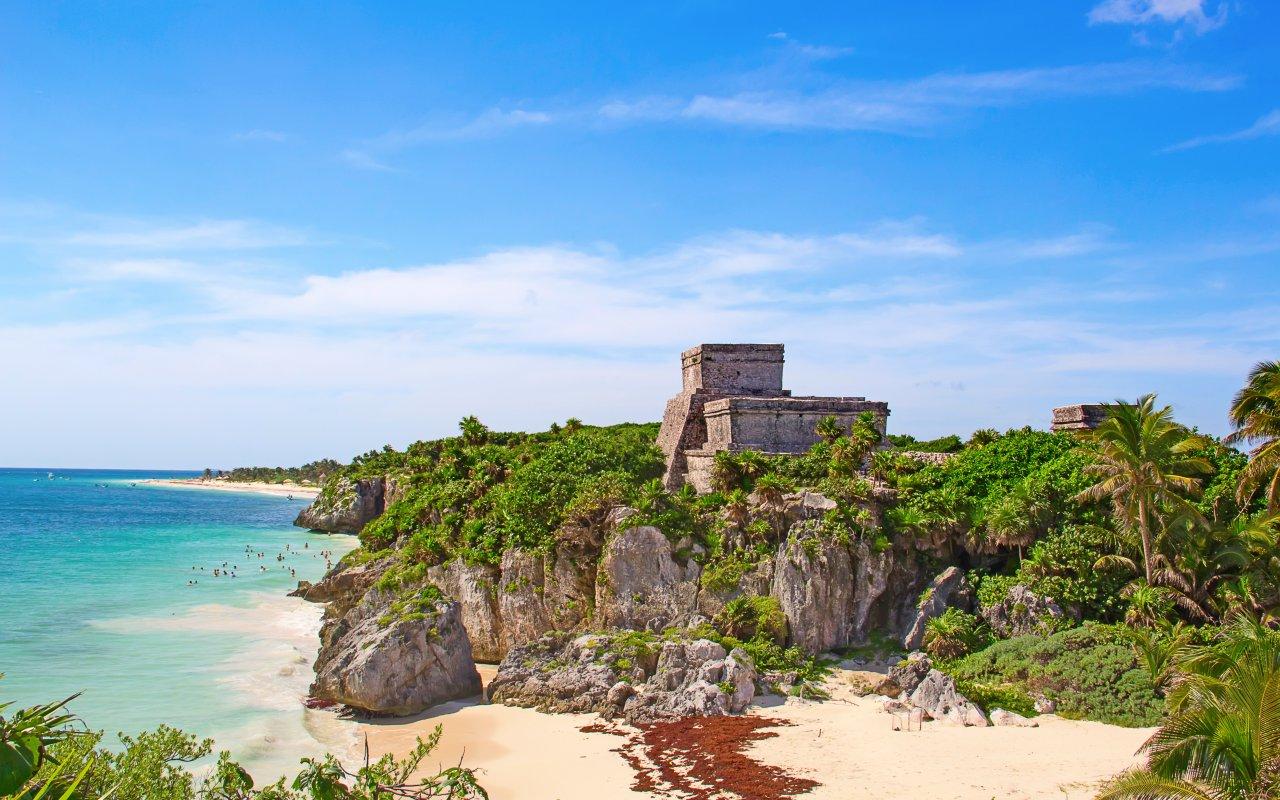 Ruines Maya a Tulum