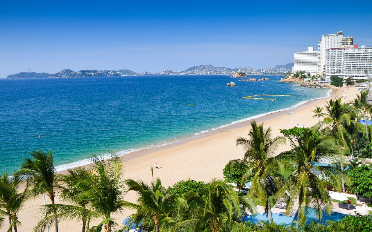 Plage d'Acapulco