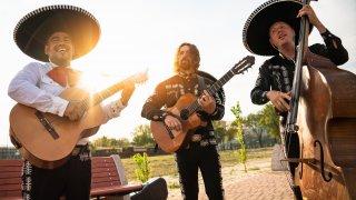 Les Mariachis, symboles du folklore du Mexique