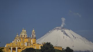 Volcans mexicains